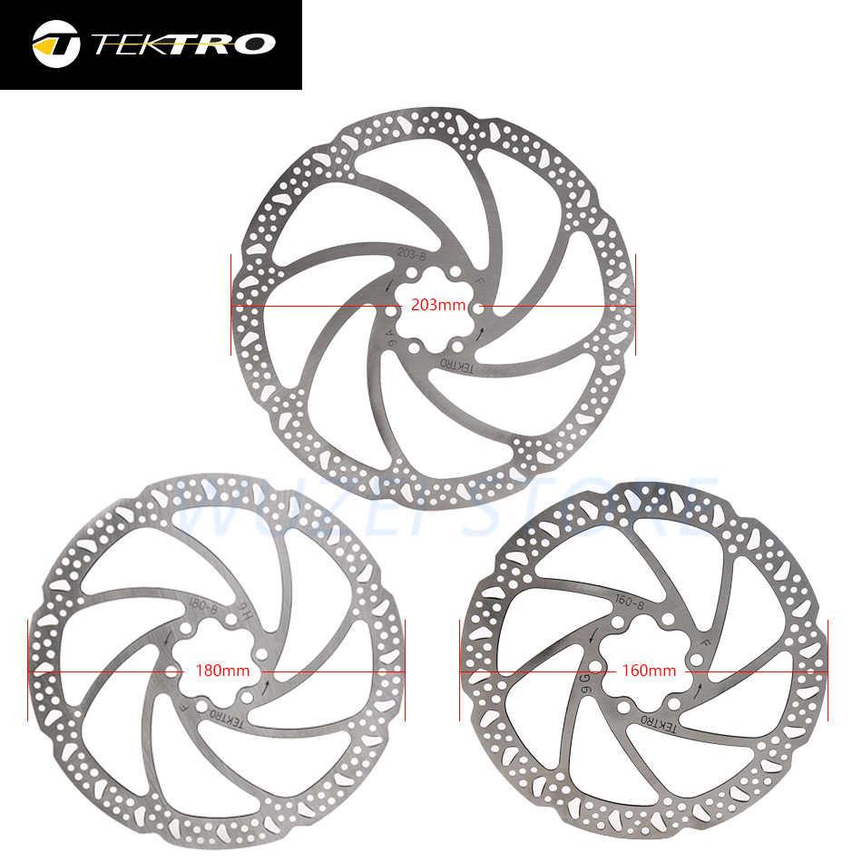 TEKTRO MTB Road Bike Rotor 160//180//203mm Hydraulic Disc Brake Rotors Boxed