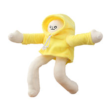 Высококачественная плюшевая маленькая кукла милая и Забавная