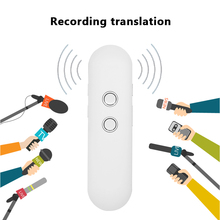 Smart Voice Translator Real-time Multi-Language Portable Translation for Travel Learning GV99 30 multi language smart translator global travel business translation bluetooth wireless easy trans digital voice interpreter