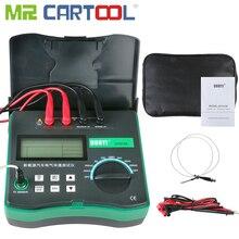Medidor de resistencia Digital DY4106, medidor de microohmios con Sensor de temperatura, medidor de millones Gigital alimentado por batería