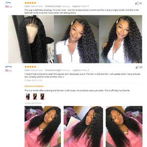 Image 5 - Celie Hair Curly Human Hair Wigs Kinky Curly Wig Pre Plucked With Baby Hair Lace Front Human Hair Wig 13x6 Curly Wig