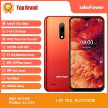 New Ulefone Note 8P Smartphone Android 10 Go 4G LTE Phone Wa