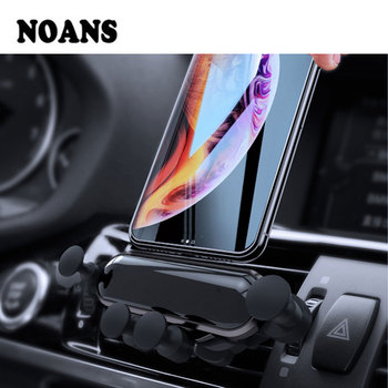 Gravity Car vent mobile phone holder GPS bracket for Audi A4 B8 VW Passat B5 Skoda Octavia A5 Renault Megane 2 3 Ford Focus mk2 image