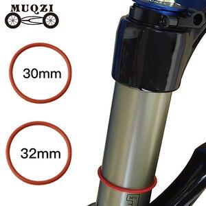 MUQZI горный велосипед дорожный велосипед, подвесная Вилка передней оси 32 мм/30 мм передняя вилка внешняя трубка дорожный круг из силикагеля пы...