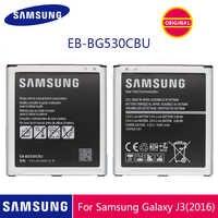 SAMSUNG Batteria Del Telefono Originale EB-BG530CBU EB-BG530CBE 2600mAh Per La Galassia Grand Prime J3 2016 G530 G531F G530H G530F Con NFC