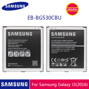 Image 1 - SAMSUNG Original Phone Battery EB BG530CBU EB BG530CBE 2600mAh For Galaxy Grand Prime J3 2016 G530 G531F G530H G530F With NFC