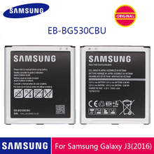 SAMSUNG orijinal telefon pil EB BG530CBU EB BG530CBE 2600mAh Galaxy Grand başbakan J3 2016 G530 G531F G530H G530F NFC ile