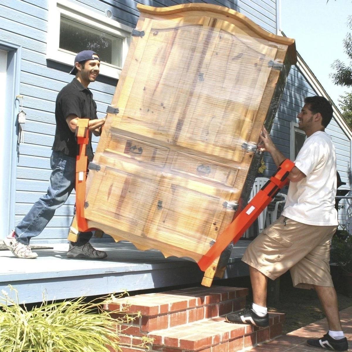 250kg Forearm Furniture Mover Strap Forklift Lifting and Moving Transport Belt In Shoulder Easier Carry Rope