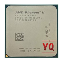 AMD Phenom II X4 925, 95W, 2,8 GHz Quad-Core CPU procesador HDX925WFK4DGI hembra AM3