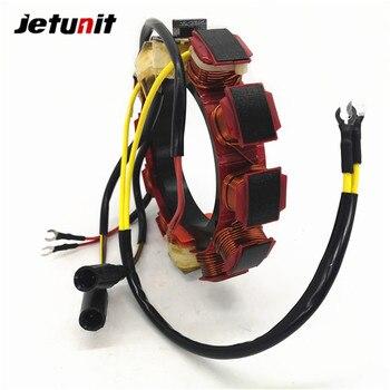 JETUNIT Outboard Stator Assy For Johnson Evinrude 35 amp 6 & 8 Cylinder 173-3415 173-4287 18-5861 583415 584287 763765 jetunit 100%premium outboard 9 amp stator assy for mercury 60 85hp 9 amp 2 3