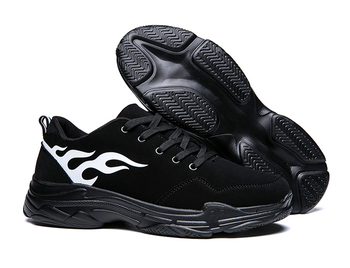 SOLI2 Men Casual Shoes Cheap Male Shoes  Black Shoes For Sneakers S1626-1650