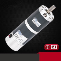 Brushless Planetary Gear Motor ZGX60RXX 60mm DIA Constant Speed 24V 7RPM 30RPM 200RPM 3 Line