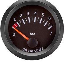 """52 мм Автомобильный манометр 2 """"12 В Масляный Пресс, датчик температуры воды, масла, масла, давления, топлива, вольт, датчик соотношения топлива,..."""