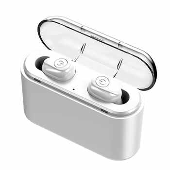 Wireless Headphones X8 Wireless 5.0 Headphones Mini In-Ear Stereo Sound With Charging Bank Sports Headpsets