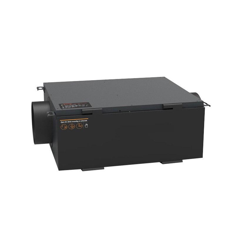 Digital display Central Ceiling Fresh Air Ventilator Exchanger Ventilation System Intelligent Air Cleaner Exchange Purifier