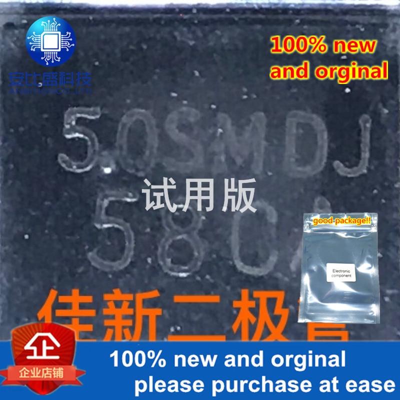 30pcs 100% New And Orginal 5.0SMDJ58CA Original 58V Bidirectional Super Power TVS Protection Tube DO214AB  In Stock