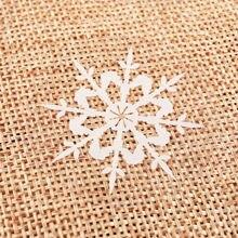 120 шт/лот прозрачная Рождественская наклейка s 2 вида конструкций