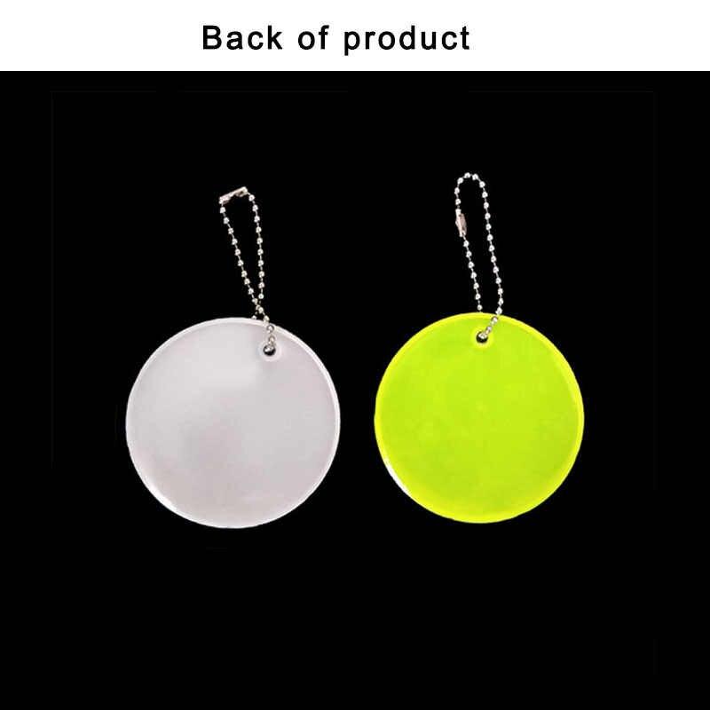 Meilite material 500 à luz de velas PVC Macio pingente de Basquete saco chaveiro pingente acessórios para uso de segurança de tráfego Reflexivo