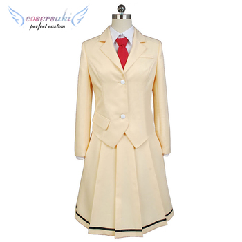 Watashi ga Motenai no wa Dou Kangaetemo Omaera ga Warui!Kuroki Tomoko Cosplay Costumes Cosplay Coat, Perfect Custom for You ! image