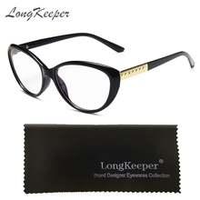 Оптические очки в оправе «кошачий глаз» для мужчин и женщин