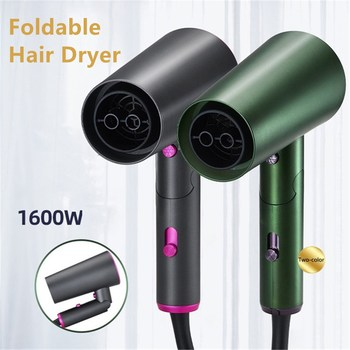 1600W Negative Ionic Hair Dryer Professional Blow Dryer Hot Cold Wind Air Brush 2021 New Hairdryer Strong Power Dryer Salon Tool