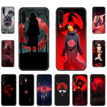 Naruto Itachi  Phone case For Samsung Galaxy A 3 5 8 9 10 20 30 40 50 70 E S Plus 2016 2017 2018 2019 black luxury waterproof image