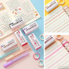 Paper-Tape Scrapbooking Decoration Photo-Album School-Tools Diy 10pcs/Set