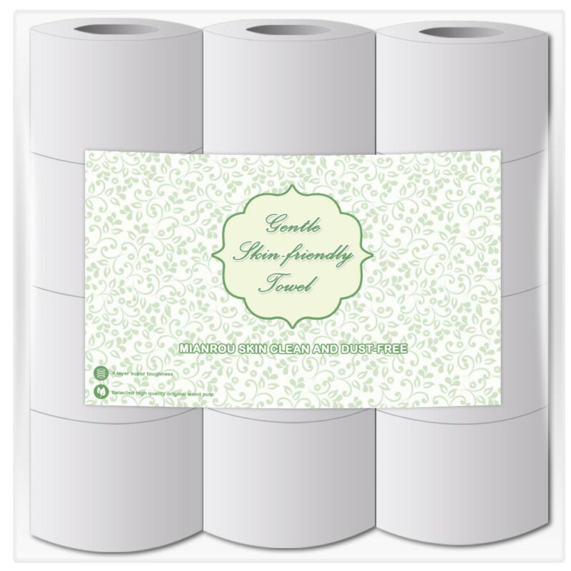 6/12/24 Rolls Toilet Paper Bulk Rolls Bath Tissue Bathroom White Soft 5 Ply.