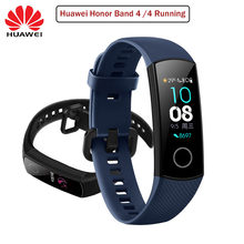 Huawei Honor Band 4 Bracelet intelligent 0.95 pouces intelligent OLED natation étanche Bluetooth Fitness Tracker écran tactile(China)