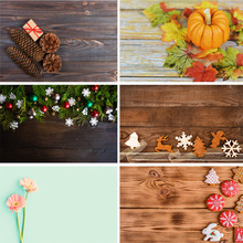 SHENGYONGBAO Vinyl Custom Photography Backdrops  Christmas Theme Background 191029CH-02