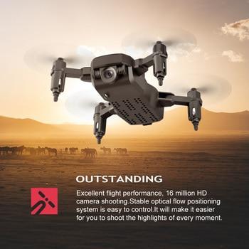 Halolo LF606 Mini Drone with Camera wifi FPV Foldable RC Mini Quadcopter with 4K Camera HD Altitude Mini Kids Toy RC Helicopter 2