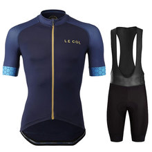 Cycling Jersey 2020 Team le col Winter Fleece Cycling Clothing MTB Cycling Bib Pants Set Ropa Ciclismo Triathlon Cycling Kit cheap 100 Polyester Lycra polyester Short Sleeve Factory Direct Sales 80 Polyester and 20 Stretch Spandex lafeng GEL Breathable Pad
