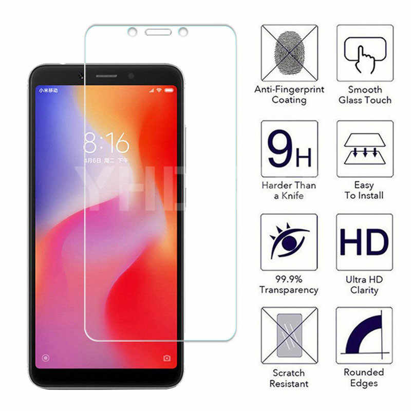 9H Tempered Glass For Xiaomi Redmi 5 Plus 5A 4 4X 4A S2 Go K20 Note 4 4X 5 5A Pro Screen Protector Safety Protective Glass Film
