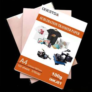 Heat-Transfer Photo-Paper Sublimation Inkjet-Printing 100GSM 20/100-Sheets-Per-Lot A4