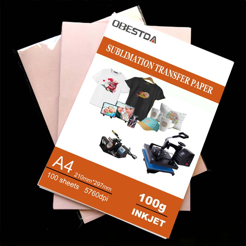 100gsm A3 A4 20/ 100 Sheets Per Lot Inkjet Printing Sublimation Heat Transfer Photo Paper
