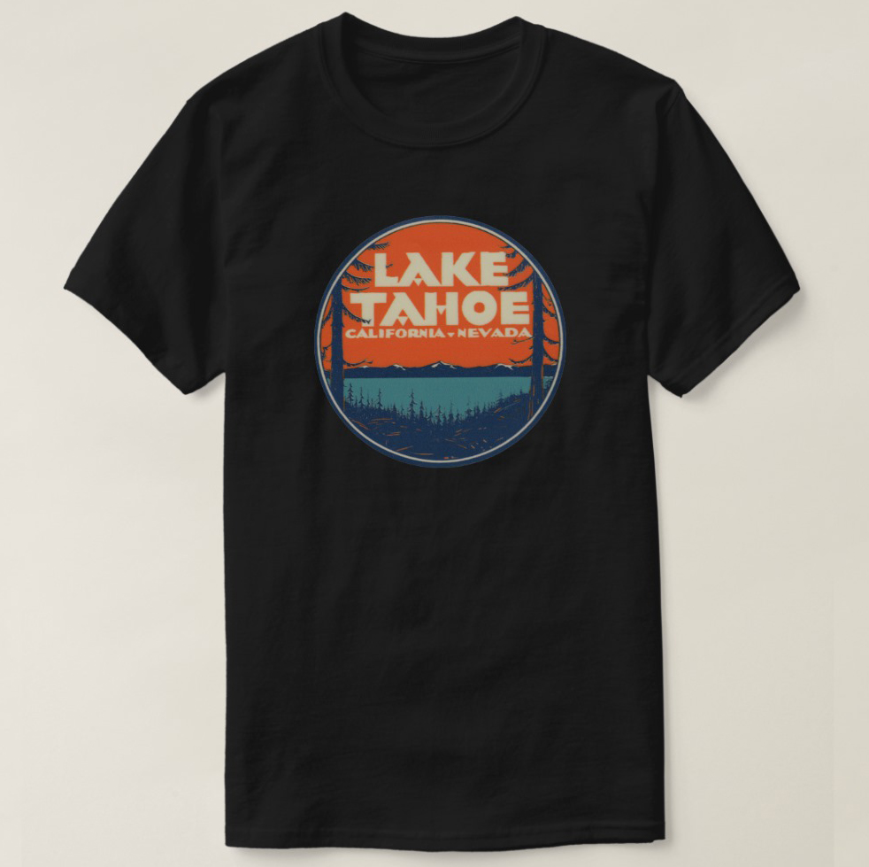 T-Shirts Lake Tahoe Sand Harbor Beautiful View 3dRose Tory Anne Collections Photography