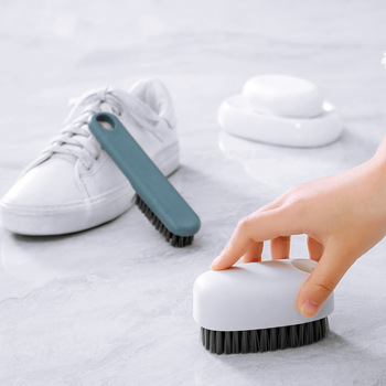 Washing Clothes Special Shoe Brush   Soft  Multi-Functional Cleaning Long Handle Board