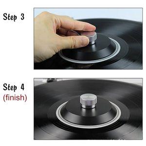Image 5 - Прочный стальной виниловый шарнирный диск LP, стабилизатор, Противоударная запись, вес/зажим