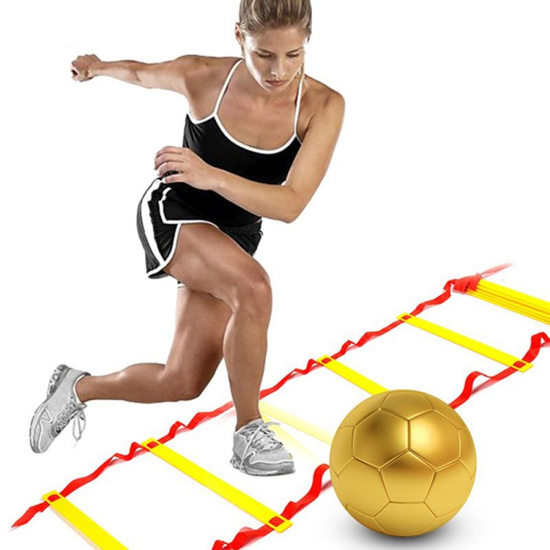 Rung Nylon Straps Training Ladders Agility Speed Ladder Stairs For Soccer And Football Speed Ladder Equipment