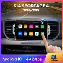 AWESAFE PX9 pour KIA Sportage 4 2016 2017 2018 KX5 autoradio multimédia lecteur vidéo GPS No 2din 2 din Android 10.0 2GB + 32GB