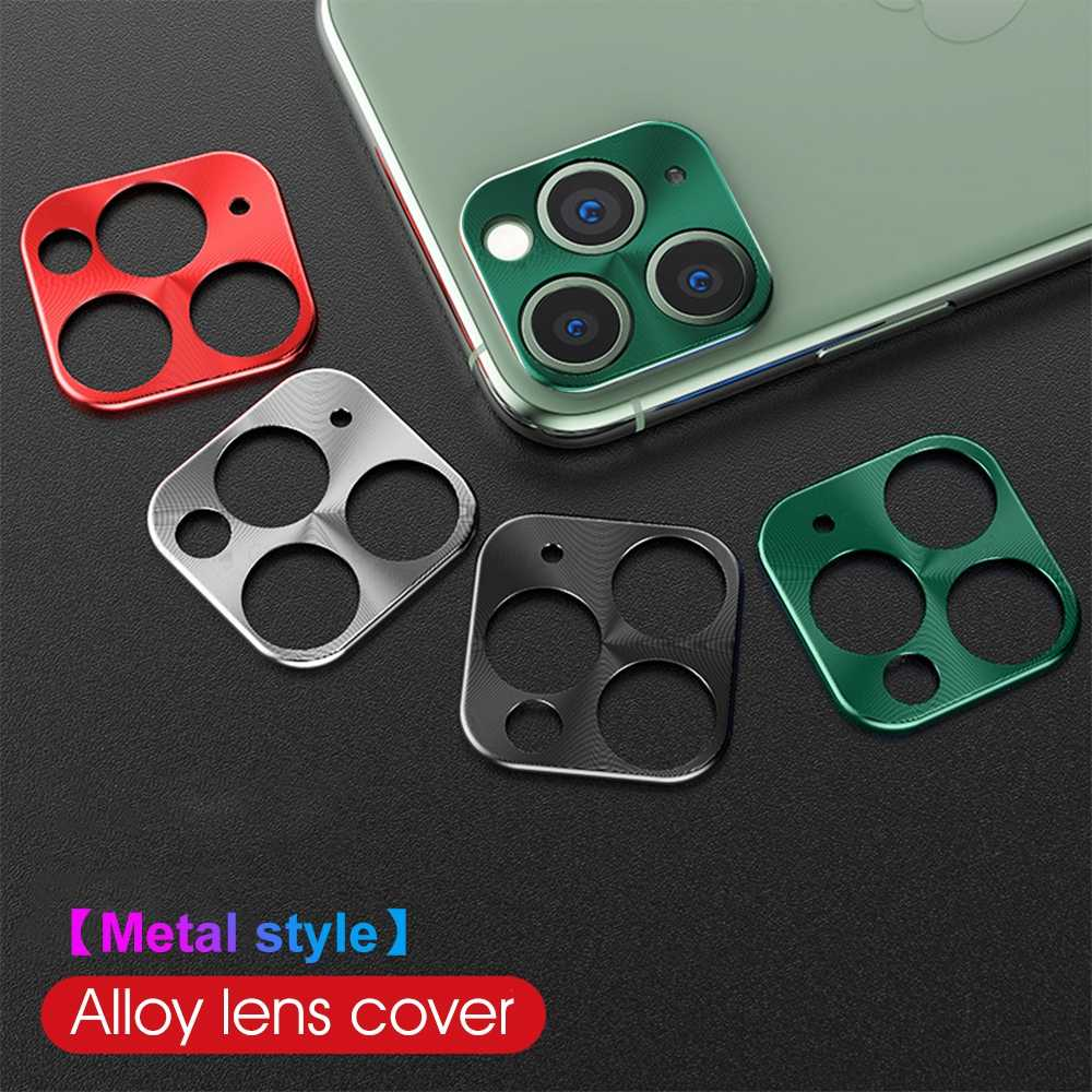 Camera Metalen Lens Protector Ring Voor Iphone 11 Pro Max Protetor Film Voor Iphone 11pro 2019 Guard Back Camera Cover accessoires