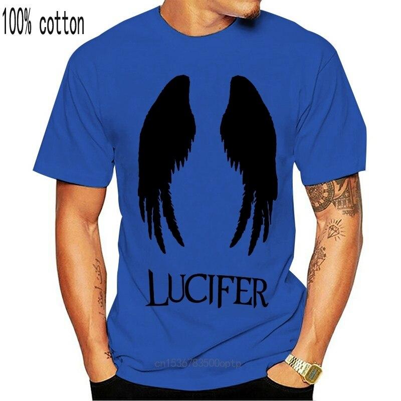 Футболка Lucifer с изображением сатаны, демона, демона, демониума, сериала Кристо, scify sci fy
