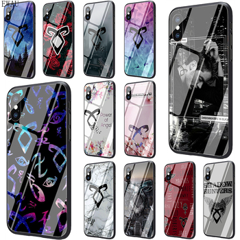 Funda de teléfono de cristal templado Shadow Hunters para iphone 5, 5s, SE, 2020, 6, 6s, 7, 8 Plus, X, XR, XS, 11 pro Max