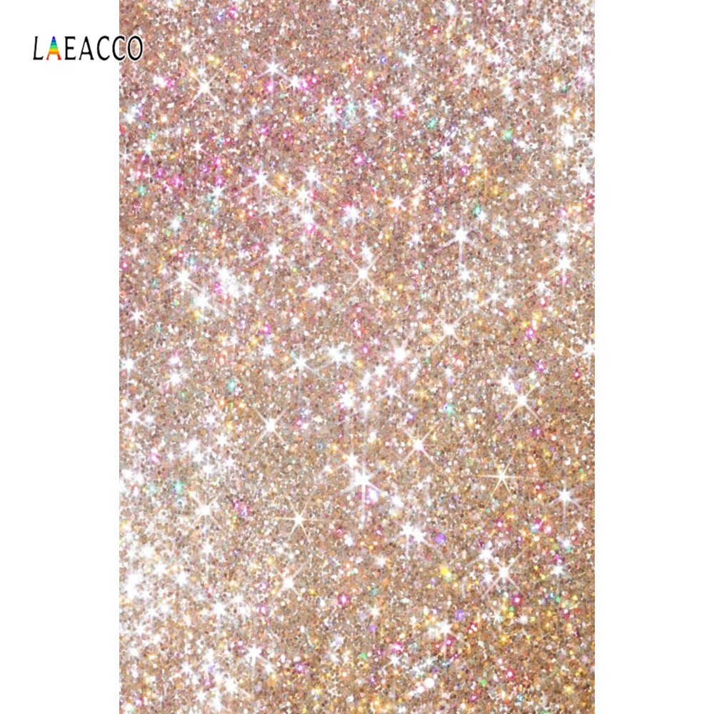 Laeacco Glitters Light Bokeh Dreamy Portrait Baby Pet Photography Backgrounds Customized Photographic Backdrops For Photo Studio