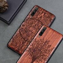 2019 New For Xiaomi Mi A3 Case Slim Wood Back Cover TPU Bumper Case On Xiaomi mi a3 lite a3lite Phone Cases