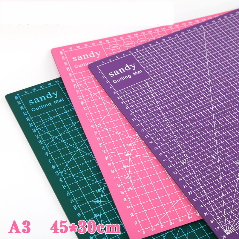 A3 Manual Cutting Block PVC Model Cutting Board Paper Pad Rubber Stamp Knife Plate Engraving Plate Shrink Hot Pad Cutting Board