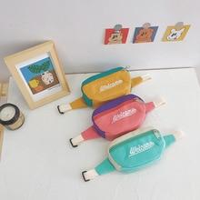 Bag Canvas-Belt Purse Wallet Waist-Pack Baby Children's Chest Cloth-Bag Messenger-Bag