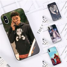 Youngboy Never Broke Again Black TPU Soft Phone Case Cover for iPhone 11 pro XS MAX 8 7 6 6S Plus X 5 5S SE XR casese 2020 never broke again youngboy pop rapper case for iphone 11 pro xs max xr x 6 6s 7 8 plus 5s se black soft tpu silicone phone cases