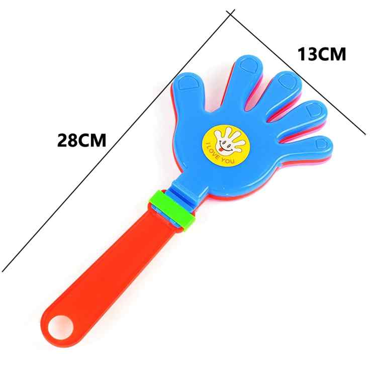 Colorful Hand Clapping Toy Soccer Football Games Concert Drinking Props Noise Maker Cheering Trumpet Toys For Handclap Applaud in Noise Maker from Toys Hobbies