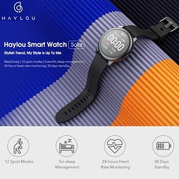 Haylou montre intelligente solaire Version mondiale IP68 étanche Smartwatch femmes hommes montres pour Android iOS Haylou LS05 de Xiaomi 2